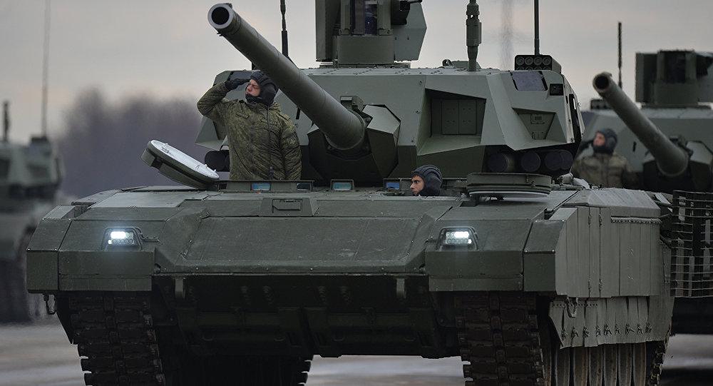 """Tancul rusesc """"Armata"""" a fost testat în regim fără pilot"""