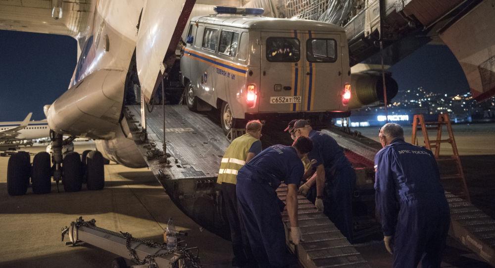 Cel de-al patrulea avion cu salvatori ruși a plecat spre Beirut