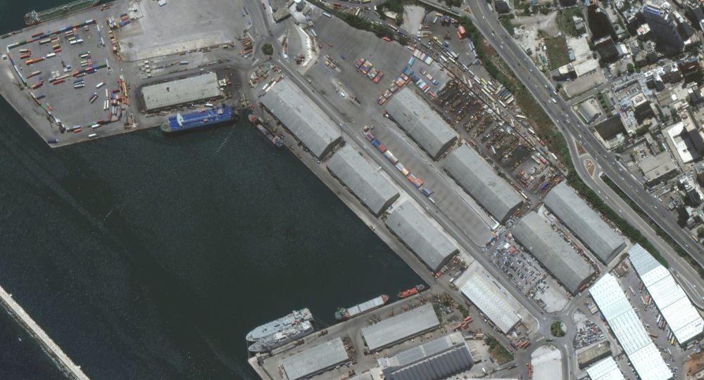 Imagine cutremurătoare: Portul Beirut înainte și după tragedie – văzut din spațiu