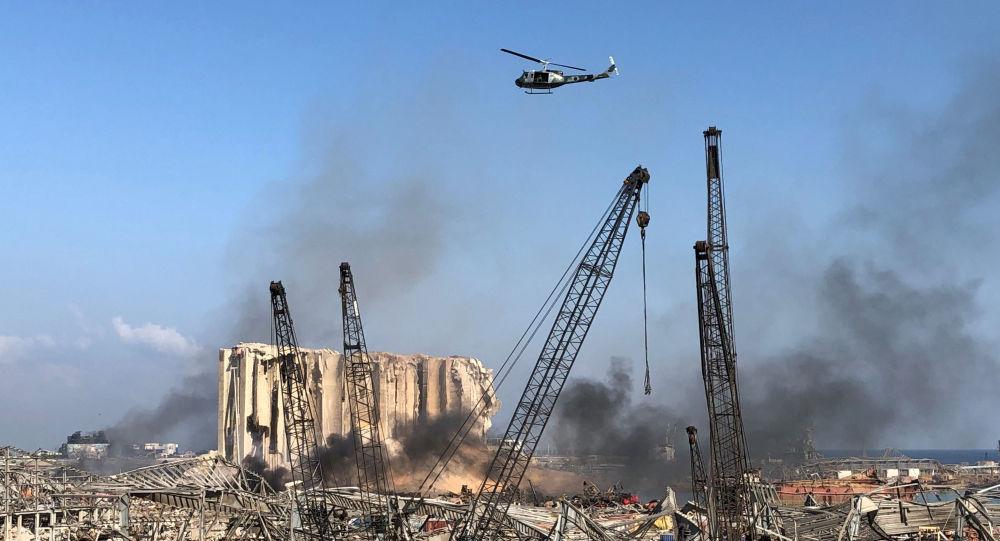 """Primarul Beirutului: """"dezastrul este imens"""" - pericolul vaporilor de amoniac eliberaţi"""