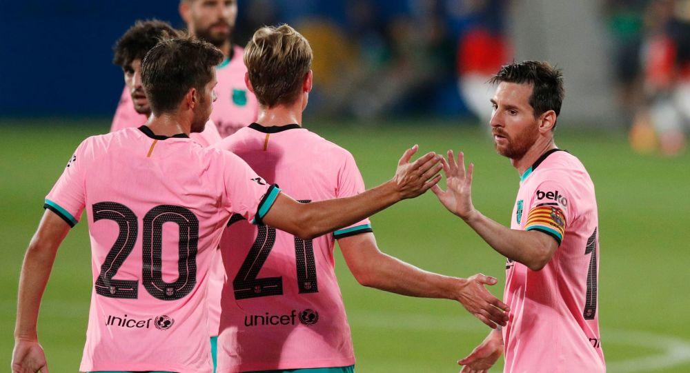 VIDEO: Barcelona - Girona - dublă de senzație a lui Messi