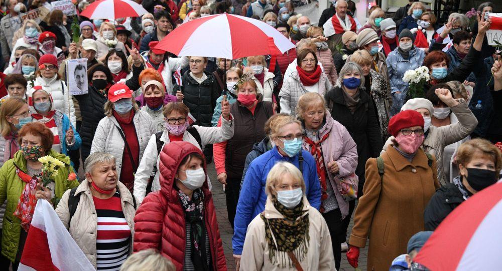 Un nou protest în Belarus: Au răsunat împușcături
