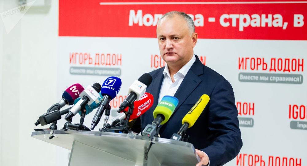 Dodon, despre declarația lui Sandu privind Transnistria: O mare