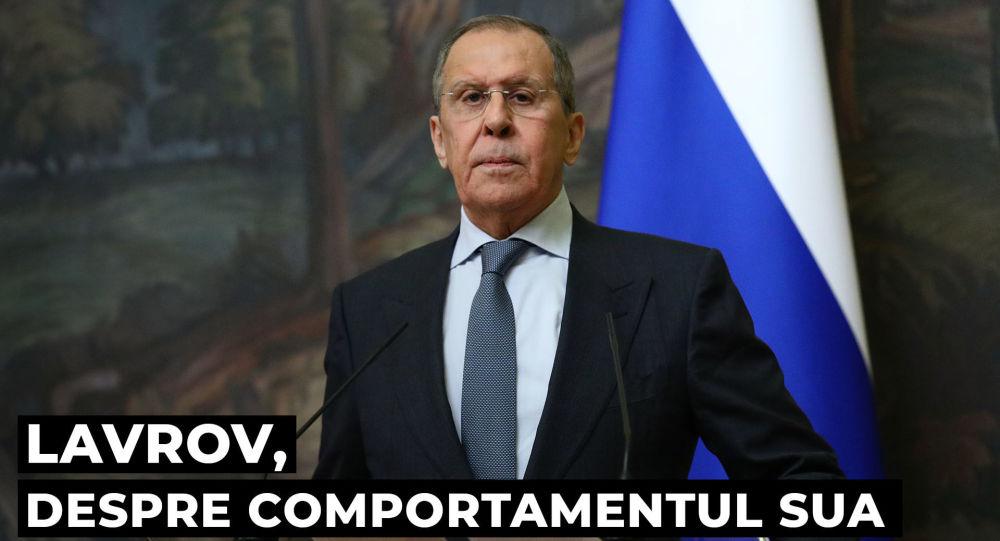 Lavrov a comparat  SUA cu un elefant �n magazinul de por?elanuri