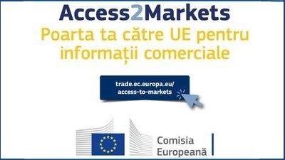 PORTALUL PENTRU IMPORT EXPORT DE BUNURI IN UE – Access2Markets