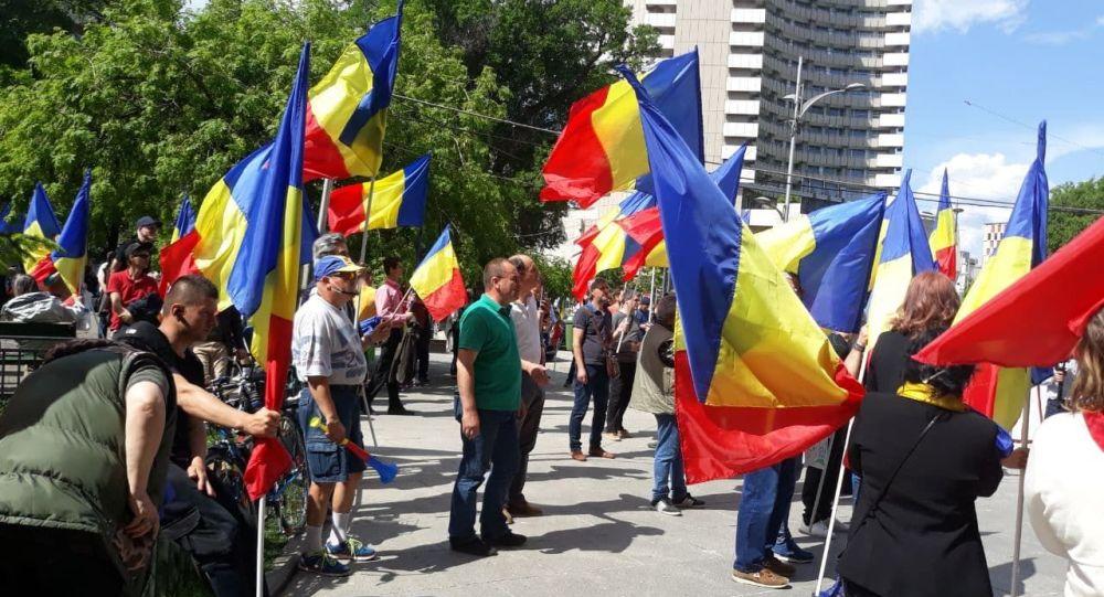 """Acum, Live: Protest în Capitală – parte a """"Marșului mondia"""
