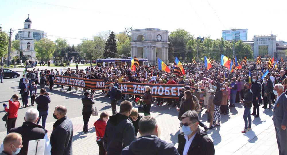 Mii de oameni s-au adunat la Chișinău pentru a participa la mar