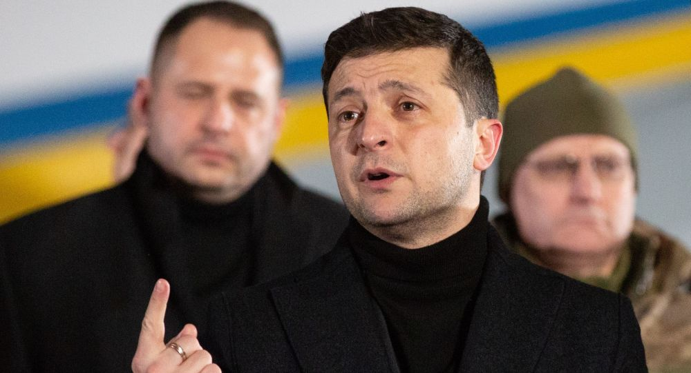 Președintele Ucrainei, Zelenski, a continuat bășcălia relați