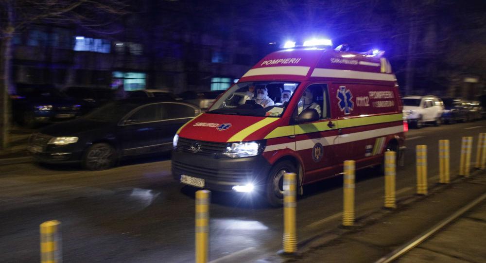 Accident de microbuz cu străini în România, 17 victime - video